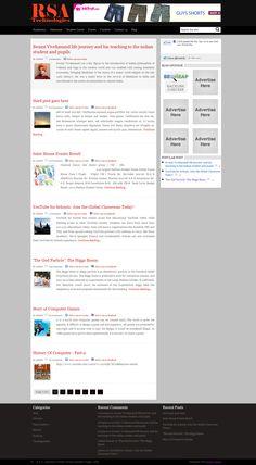 Fresh wordpress Theme