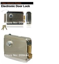 44.61$  Buy here - http://alic1t.worldwells.pw/go.php?t=1239284452 - Electronic Door Lock Free shiping! Home Stainless Steel Electronic Door Lock For Video Doorphone Intercom free shipping 44.61$