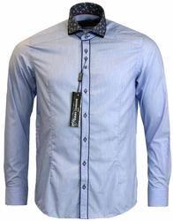 GUIDE LONDON 1960s Mod Paisley Double Collar Shirt