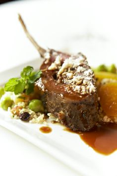 Moroccan Lamb with Almonds #culinarycapers #food #catering http://www.culinarycapers.com/ Photo: Foodie Photography