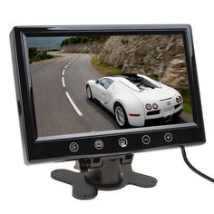 42.98$  Watch now - http://alixuc.shopchina.info/go.php?t=32808445476 - 9inch big bright TFT LCD Color Screen Car Monitor Car DVD Video Player Rear View Camera For parking camera car-detector 42.98$ #magazine