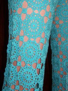 Crochet Patterns Pants - odezhda-bryuki-na-leto. Vintage Crochet Patterns, Crochet Motif, Crochet Doilies, Crochet Lace, Crochet Pants, Crochet Skirts, Crochet Clothes, Crochet World, Crochet Books