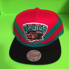 429d6cca65539 Mitchell and Ness Vancouver Grizzlies SnapBack Hat NWT Mitchell and Ness…  Ball Caps