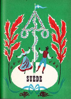 Maurice Laban's 1959 illustration for Sweden.