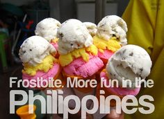 The Secret Origins of 6 Pinoy Street Food Staples Ice Cream Candy, Love Ice Cream, Ice Cream Treats, Pinoy Street Food, Filipino Street Food, Filipino Food, Food Porn, Food Staples, Filipino Recipes