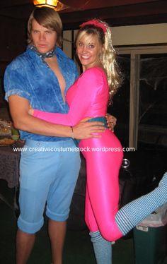 Barbie-1 & Ken-1 ... DIY Creative Costumes