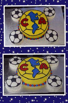 America soccer team cake