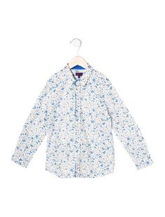 Paul Smith Boys' Floral Button-Up Shirt