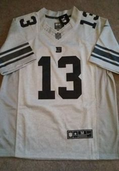 Bnwt #odell #beckham jr #gridiron grey new york giants nfl jersey m,  View more on the LINK: http://www.zeppy.io/product/gb/2/361886673039/