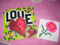 Love board hama perler by NotAPerfectGırl ♥