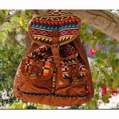 Tribal backpack:)