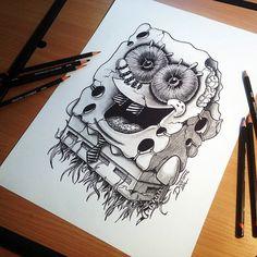 Amazing_Pencil_Drawings_by_Tattoo_Artist_Dino_Tomic_2014_10.jpg (823×823)