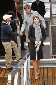 Crown Prince Frederik And Crown Princess Mary Of Denmark Official Visit To Canada - Day 1 on 17.09.2014 in Ottawa, Canada.