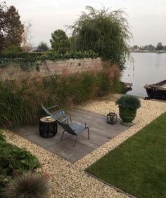 erwin stam tuin studio / bergse plassen stadstuin in herfst, rotterdam
