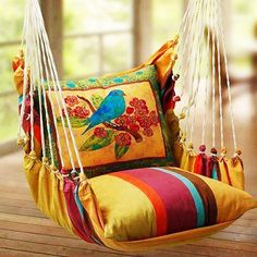 Amazing garden swing design ideas. If you have...