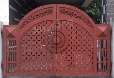 Grill Gate Design, House Main Gates Design, Balcony Grill Design, Simple Gate Designs, Wrought Iron Gates, Entrance Gates, Window Design, Laser Cutting, Cnc