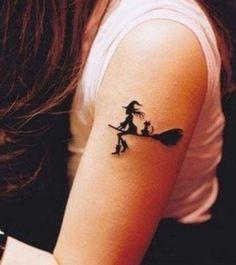 witch tattoo #tattoo #tattoos #witch