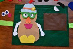 Mr. Potato Head Felt Board