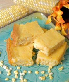 Crockin' Corn Casserole - This creamy corn dish will leave you lickin' your lips it's so sweet and yummy! It's perfect for Thanksgiving side or any time of year.