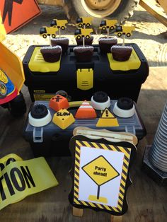 Ideas for a Construction Party - #kidsparty