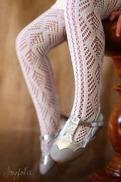 lovely lacy stocking and shoes~
