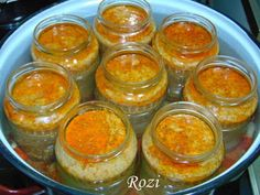 Rozi erdélyi,székely konyhája: Kenőmájas üvegben Panna Cotta, Pudding, Desserts, Food, Gastronomia, Tailgate Desserts, Dulce De Leche, Deserts, Custard Pudding