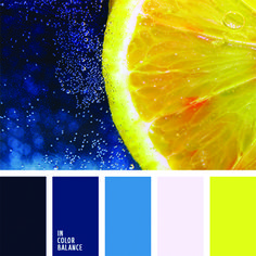 In Color Balance - Color Palette Colour Pallete, Colour Schemes, Color Patterns, Color Combos, Color Palettes, Mellow Yellow, Blue Yellow, Yellow Shades, Lemon Yellow