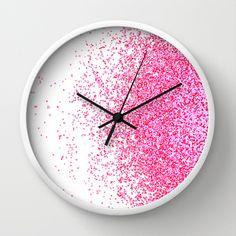Wall Clock Design 186547609539493227 - sweet delight Wall Clock Source by agnesart Big Wall Clocks, Wall Clock Wooden, Led Wall Clock, White Clocks, Cool Clocks, Diy Clock, Clock Painting, Wall Watch, Clock For Kids