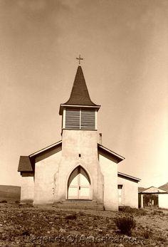 Cimarron, NM - Catholic Church, 1936
