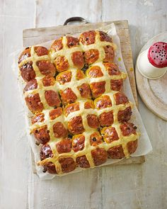 Use Dan Lepard's easy step-by-step guide to make his truly special hot cross buns, made with a blend of saffron, vanilla, orange, mixed spice and hone