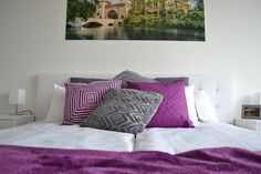 Purple is the colour this year! Budapest, Colour, Purple, Modern, Furniture, Home Decor, Luxury, Color, Trendy Tree