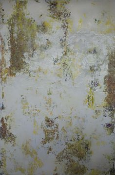 """Yellow"""" Pure Abstraction Series, 60 x 40 x 1.5"""" Mixed Media & Acrylics on Canvas. Original Available on date of post: info@debchaney.com See more painting in this series: http://www.debchaney.com/collections/pure-abstraction/"""