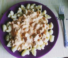 Kuracie prsia s cestovinami a omáčkou - Receptik.sk Risotto, Macaroni And Cheese, Ethnic Recipes, Kitchen, Instagram, Food, Mac And Cheese, Cooking, Kitchens