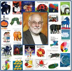 Eric Carle Preschool Theme!  Here you'll find a full, free Eric Carle Preschool Theme with over 60 activities for your classroom right here at Preschool Plan It!