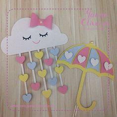 Be den lop Diy And Crafts, Crafts For Kids, Paper Crafts, Cumpleaños Diy, Cloud Party, Infant Classroom, Love Rain, Felting Tutorials, Marianne Design