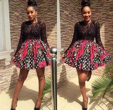 Stylish Aso-ebi Ankara Short Gown Styles Hi Dearies, again I've selected amazing trendy aso ebi styles. African Dresses For Women, African Print Dresses, African Attire, African Fashion Dresses, African Wear, African Women, African Prints, Ghanaian Fashion, Ankara Fashion