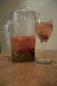 Fruit Salad Sangria!