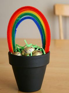 Pot of Gold from Makes and Takes for Saint Patricks day
