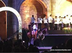 """Caballos Bailadores de Huetamo de la Tierra Caliente en K'uinchekua """"La Fiesta Grande de Michoacán"""" en la Plaza Valladolid en Morelia"""