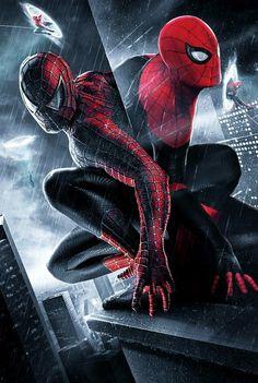 Spider-Man: Multiverse artwork (By BossLogic) Marvel Films, Marvel Art, Marvel Dc Comics, Marvel Heroes, Marvel Characters, Marvel Cinematic, Marvel Avengers, Spiderman Art, Amazing Spiderman