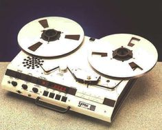 Lyrec FRED professional reel to reel tape recorder