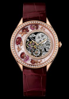 Vacheron Constantin Watch  Fabuleux Ornements made of Chinese Embroidery for Women - Collection Métiers d'Art Reference : 33580-000R-9904