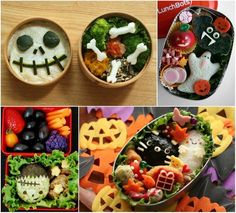 Adorably ghoulish bento boxes