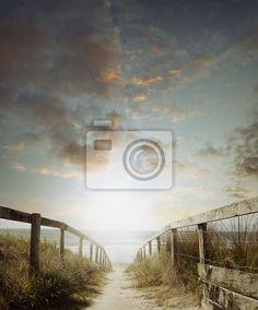 Fotobehang walkway