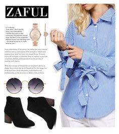 """Zaful 5"" by nejra-l ❤ liked on Polyvore featuring Cheville, Spitfire and Michael Kors"