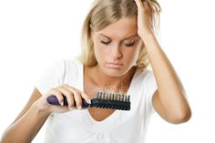 Many new moms see noticeable hair loss a few months after having a baby. This is normal — and not true hair loss. The good news is that it's temporary. http://qoo.ly/n3wpe