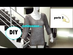 tutorial crochet blusa facil paso a paso/how to do blouse  (with subtitles in several lenguage) - YouTube