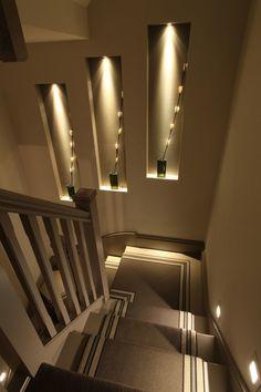 Coole Treppenbeleuchtung   Schlicht Und Sehr Schick