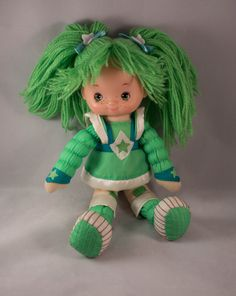 **SOLD** 1983 Patty O'Green Rainbow Brite Doll by JenuineCollection on Etsy #rainbowbrite #pattyogreen #80stoys #toysforsale #doll