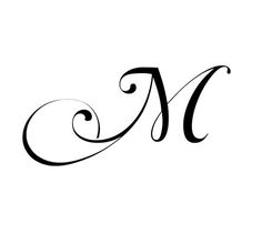 Fancy Cursive Letter M | imgbucket.com - bucket list in pictures!:                                                                                                                                                                                 More